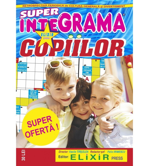 11 SUPER INTEGRAMA COPIILOR SIK 1